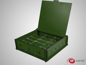 e-Raptor Universal Box Medium Green