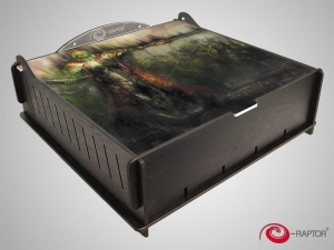 e-Raptor Trading Card Storage Ultimate Box - Death King