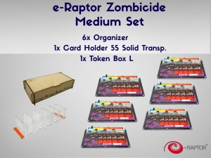 e-Raptor Zombicide Medium Set