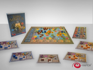 e-Raptor organizer compatible with Terra Mystica™  x5