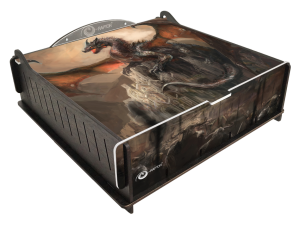 e-Raptor Trading Card Storage Deluxe Box - Dragon Castle