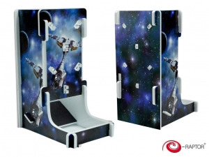 e-Raptor Dice Tower Cuboid FullPrint Space Fighter