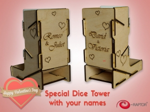 Dice Tower swap! Valentine's Day Edition