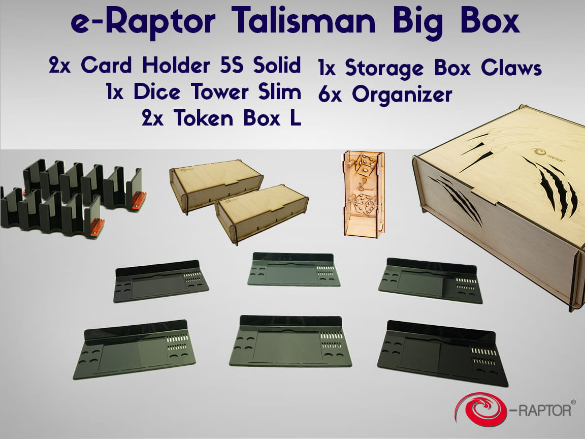 Set Talisman Big Box E Raptor Pl