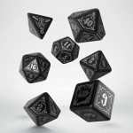 Q-Workshop Bloodsucker Black & silver Dice Set