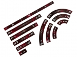 e-Raptor Rulers Set SWX Red Upgraded