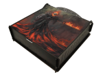 e-Raptor Trading Card Storage Ultimate Box - Fire Revenant