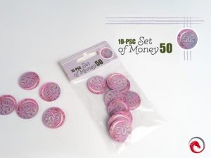 e-Raptor 10-Piece Set of Money 50