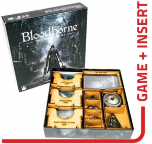 Bloodborne: The Card Game + expansion + e-Raptor compatible insert