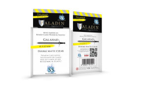 Paladin Galahad PREMIUM Sleeves 41 x 63mm