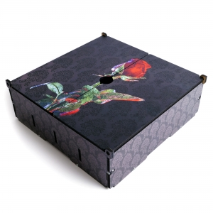 e-Raptor Card Storage Case Rose