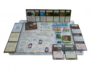 e-Raptor Organizer compatible with Arkham Horror™