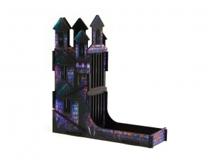 e-Raptor Dice Tower Castle FullPrint Lava (UV PRINT)