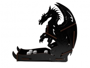 e-Raptor Dice Tower - Dragon Black