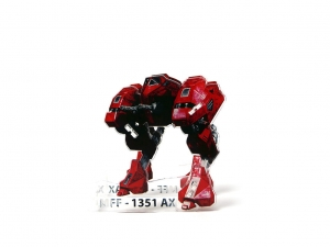 e-Raptor Dice Tower MFF Mech Red (UV PRINT)