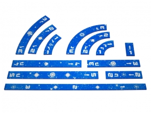 e-Raptor Rulers Set SWX Blue