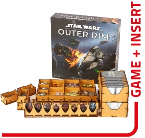 board game Star Wars Outer Rim + insert