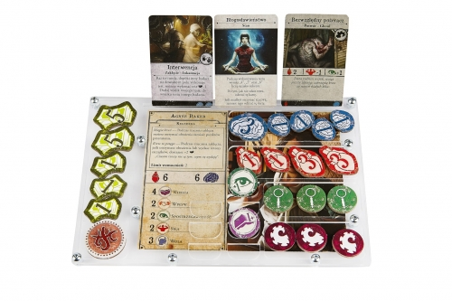 e-Raptor Organizer compatible with Arkham Horror™ 3rd ed.