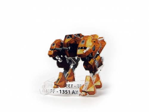 e-Raptor Dice Tower MFF Mech Yellow (UV PRINT) 1.jpg